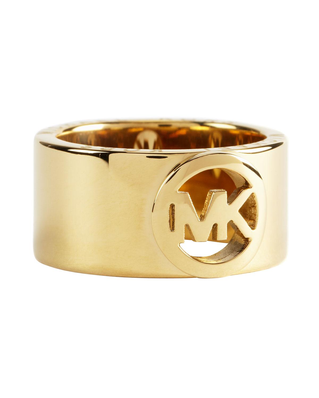 Michael Kors Fulton Ring in Gold