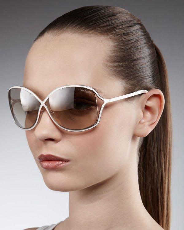 Tom Ford Miranda Sunglasses Gold