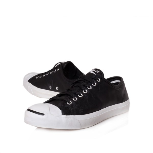 Converse Jack Purcell Leather In Black Men - Lyst
