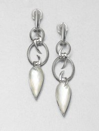 Stephen Webster Mother Of Pearl Clear Quartz and Sterling ...