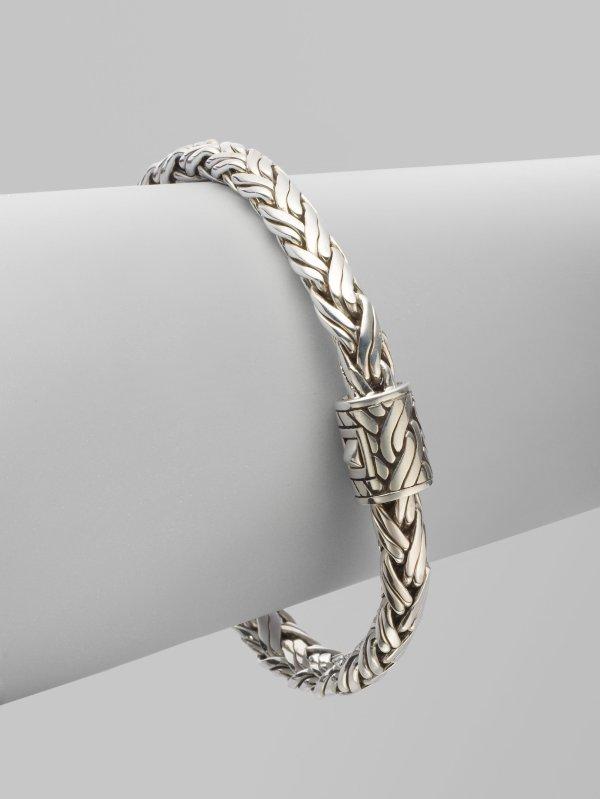 John Hardy Sterling Silver Bracelet In Metallic Lyst
