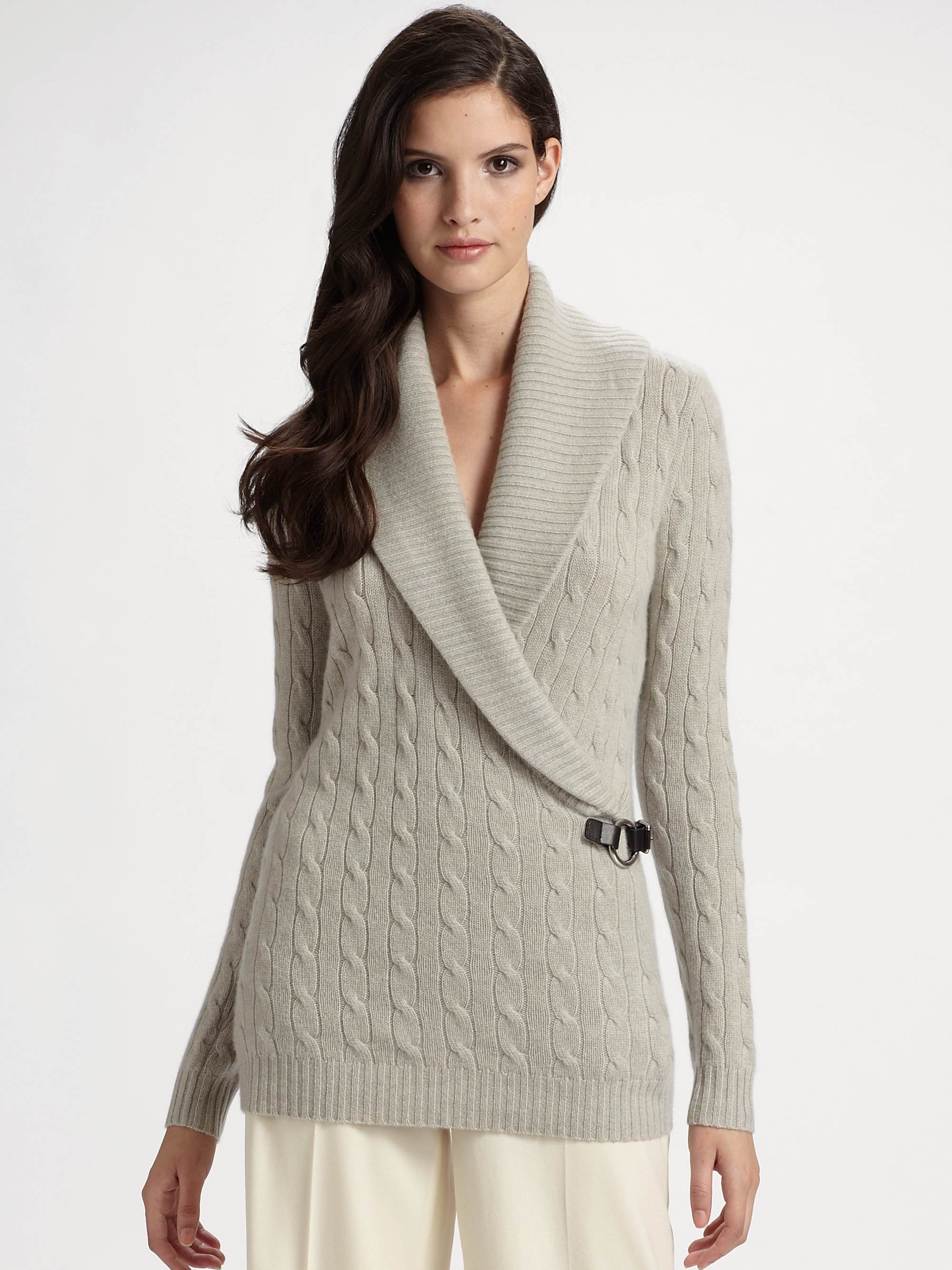 Gray Macy Cardigan Sweaters S