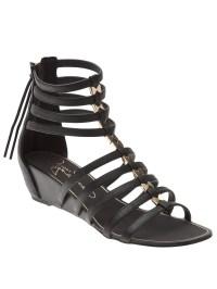 Report Meliza Gladiator Sandal in Black   Lyst