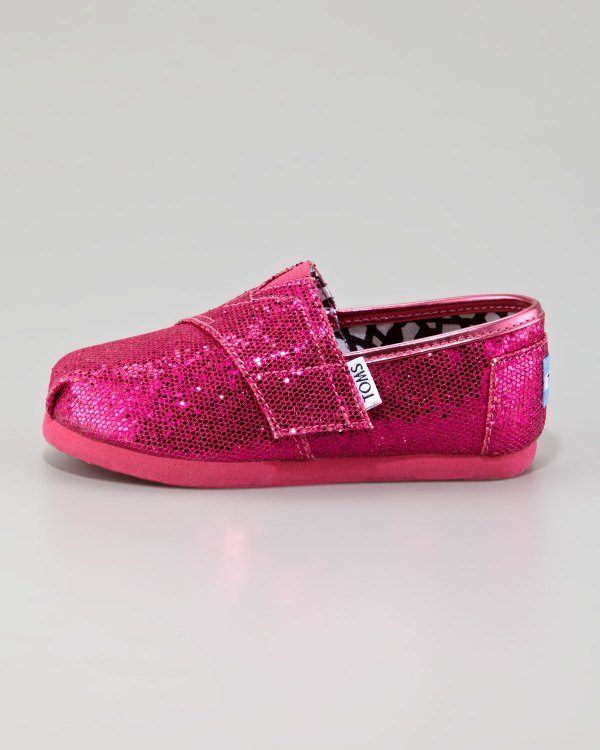 da22430632e1a Hot Pink Sequin Shoes - Year of Clean Water