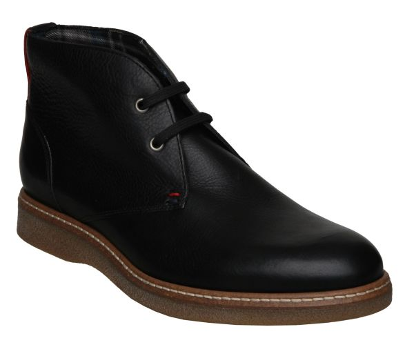 Tommy Hilfiger Christopher 1a Casual Boots In Black