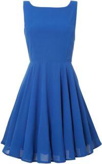 True Decadence Plain Jane Prom Dress in Blue (Electric ...