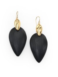 Alexis bittar Minimalist Lucite Earrings in Metallic | Lyst