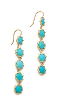 Jamie wolf Tiered Turquoise Earrings - Gold in Metallic | Lyst