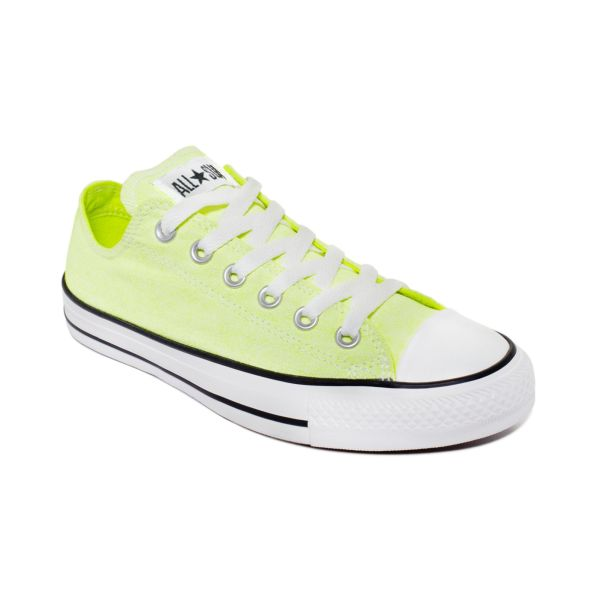 Converse Seasonal Ox Sneakers In Yellow Neon Lyst