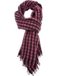 Lyst - Bajra Houndstooth Scarf in Black