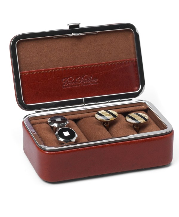 Brooks Brothers Cuff Links Box In Brown Men Lyst