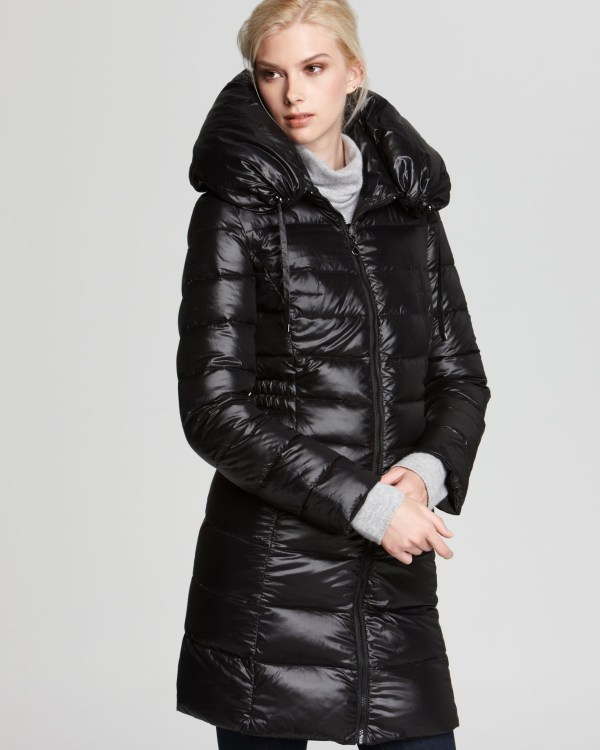 Laundry Shelli Segal Quilted Reversible Coat With