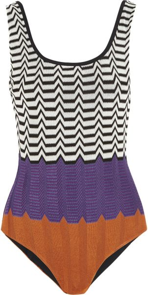 missoni print swimsuit