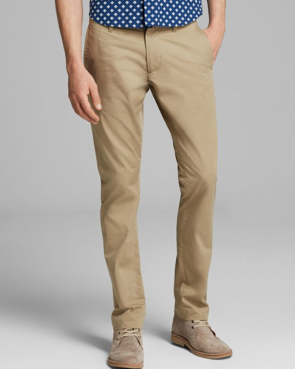 Marc Jacobs California Cotton Pants Slim Fit In