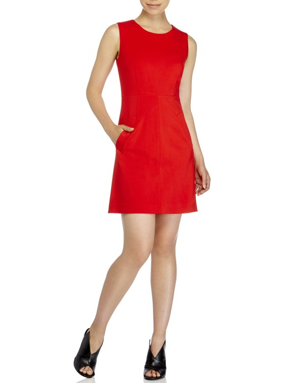 Diane Von Furstenberg Carpreena Mini Dress In Red Lyst