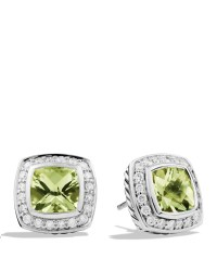 Lyst - David Yurman Petite Albion Earrings With Prasiolite ...