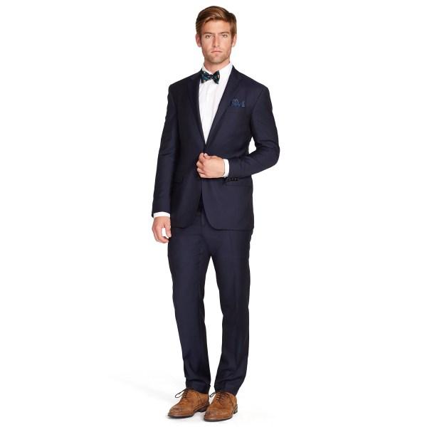 Polo Ralph Lauren Wool Twill Suit In Blue Men