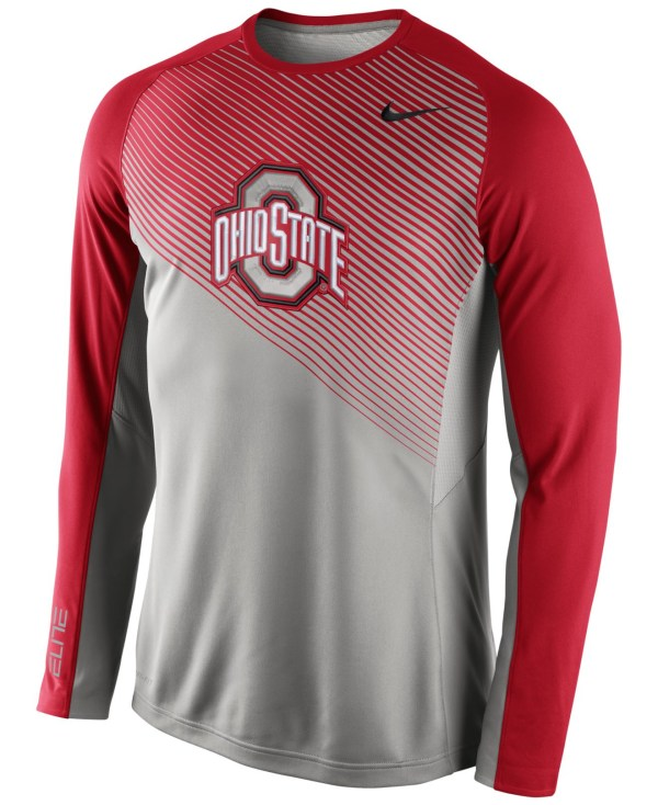 Lyst - Nike Men' Long-sleeve Ohio State Buckeyes Fearless