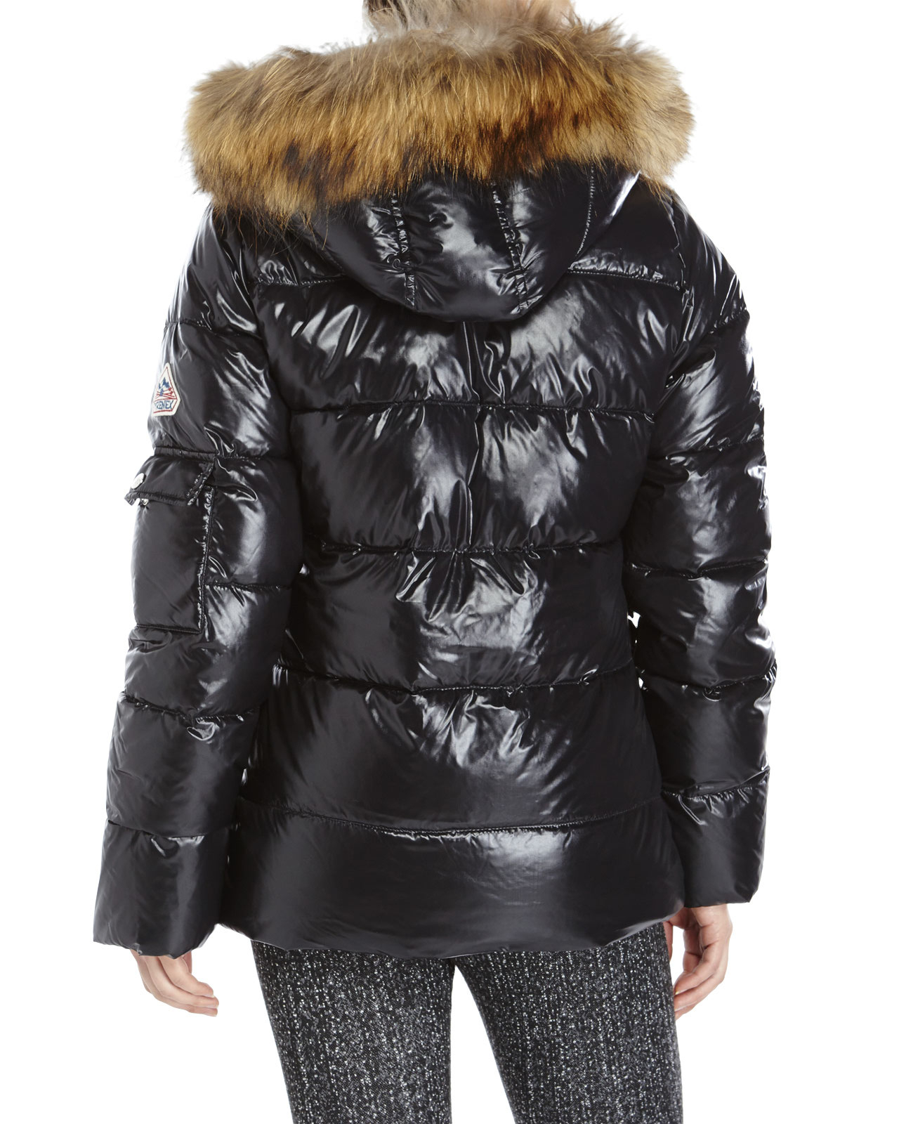 Lyst Pyrenex Authentic Shiny Puffer Jacket In Black