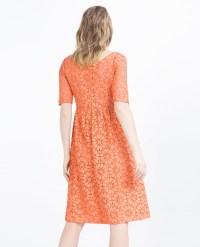 Zara Mid-length Dress in Blue | Lyst