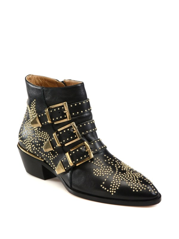 Chlo 'susanna' Ankle Boots In Black Lyst