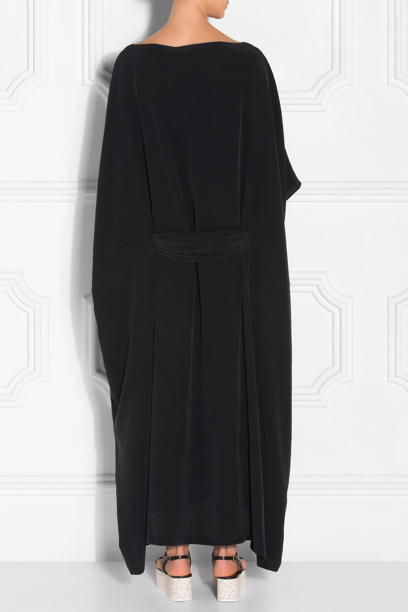 Rodebjer Aura Maxi Kaftan Dress In Black Lyst