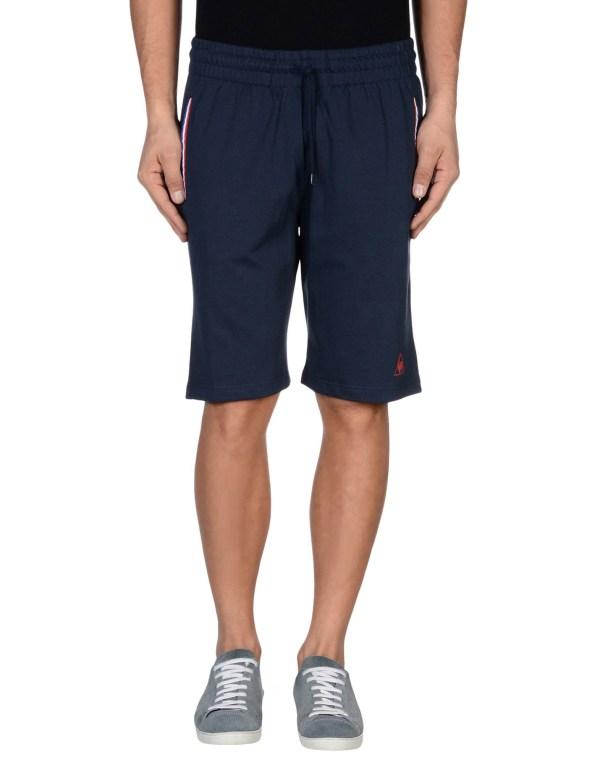 Le Sportif Bermuda Shorts In Blue Men Dark