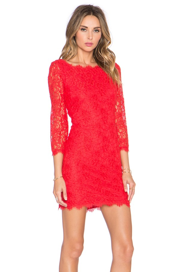 Diane Von Furstenberg Zarita Dress In Red Lyst