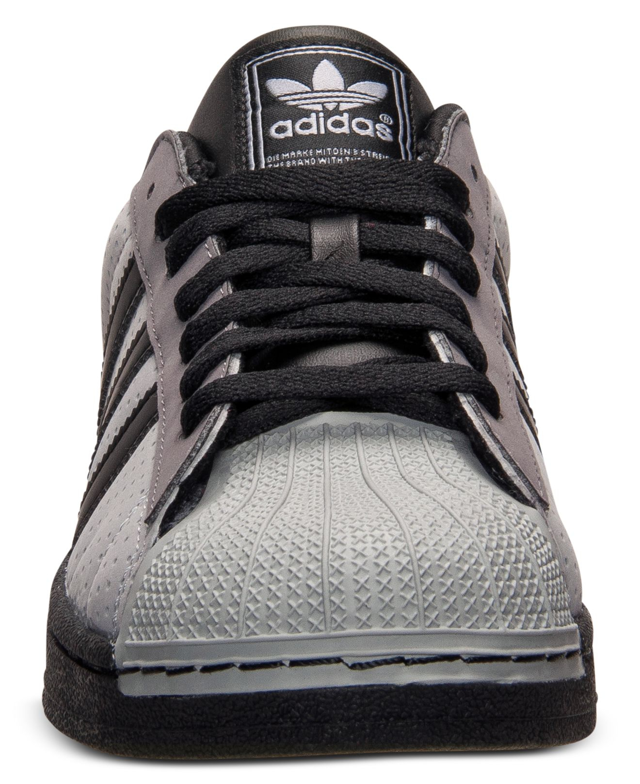 Adidas Men'S Superstar 2 Casual Sneakers From Finish Line in Gray for Men   Lyst