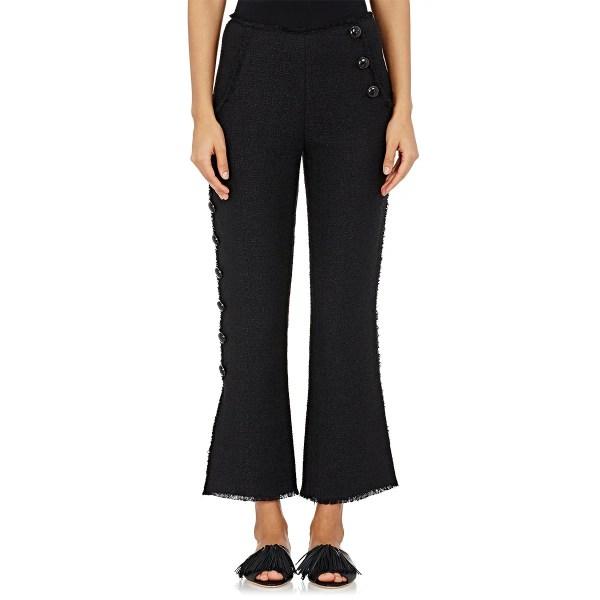 Lyst - Proenza Schouler Women' Boucle Sailor Pants In Black