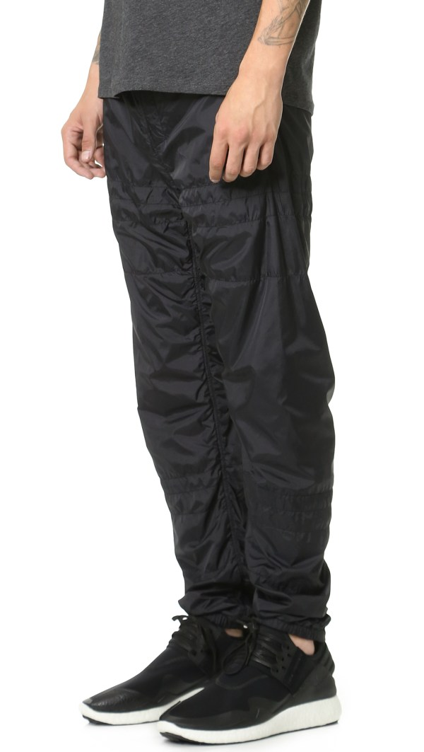 Alexander Wang Laundered Quilted Nylon Track Pants Men