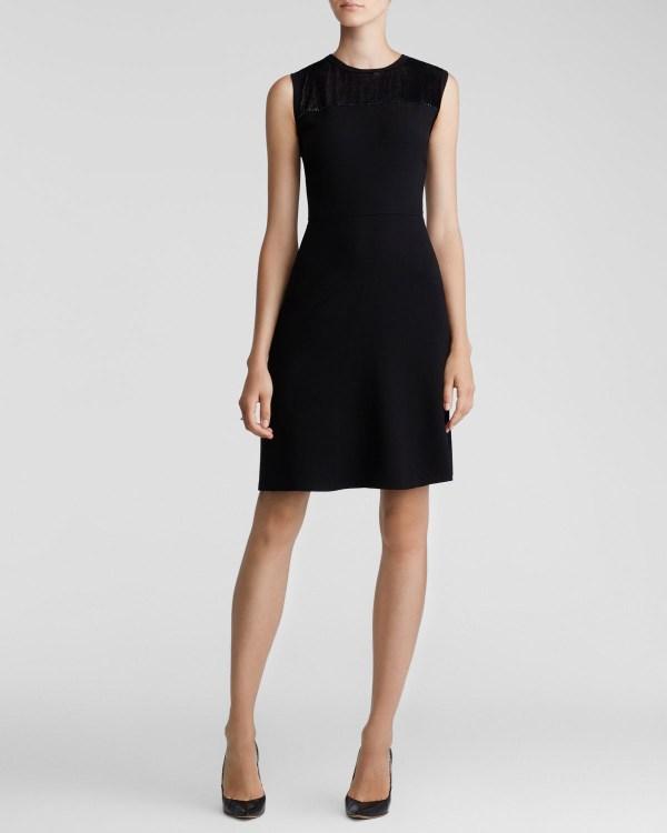Lyst - Elie Tahari Ophelia Dress In Black