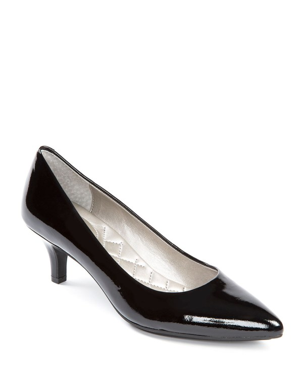 Lyst - Celine Patent Leather Pumps In Black