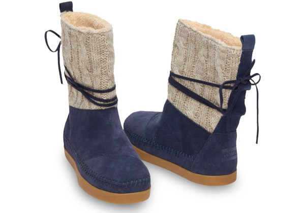 Cable Knit Boots for Women