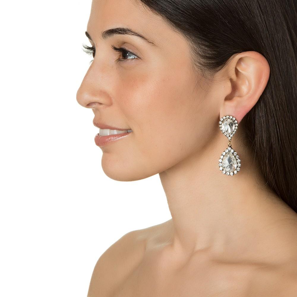 Loren hope Abba Earrings, Crystal in Multicolor