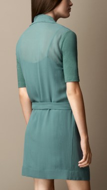 Green Wrap Dresses for Women