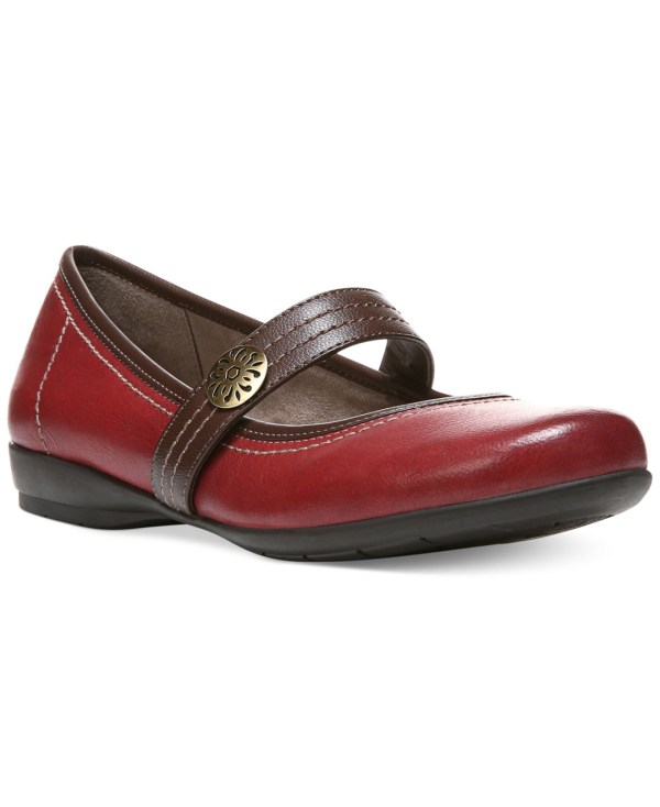 Naturalizer Garrison Flats In Red Lyst