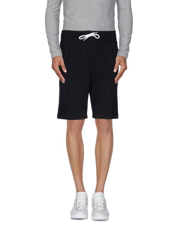 Le Sportif Bermuda Shorts In Black Men Lyst