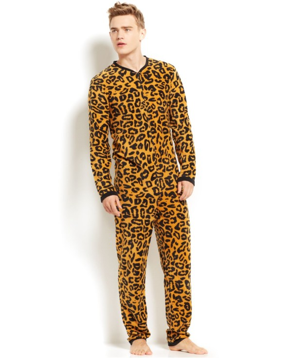 Lyst - American Rag Cheetah-printed Union Suit Pajamas