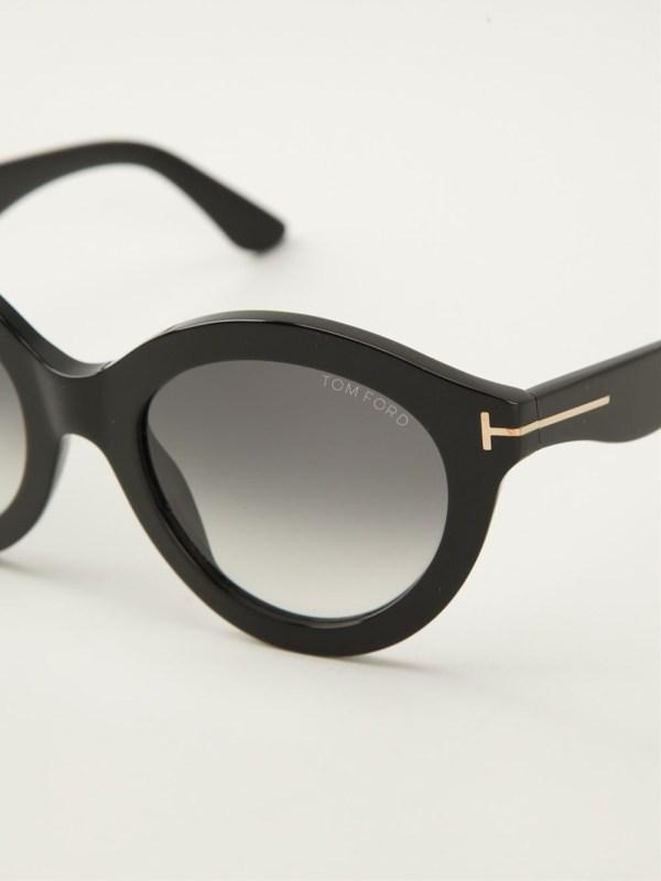 Tom Ford Sunglasses Black Frame