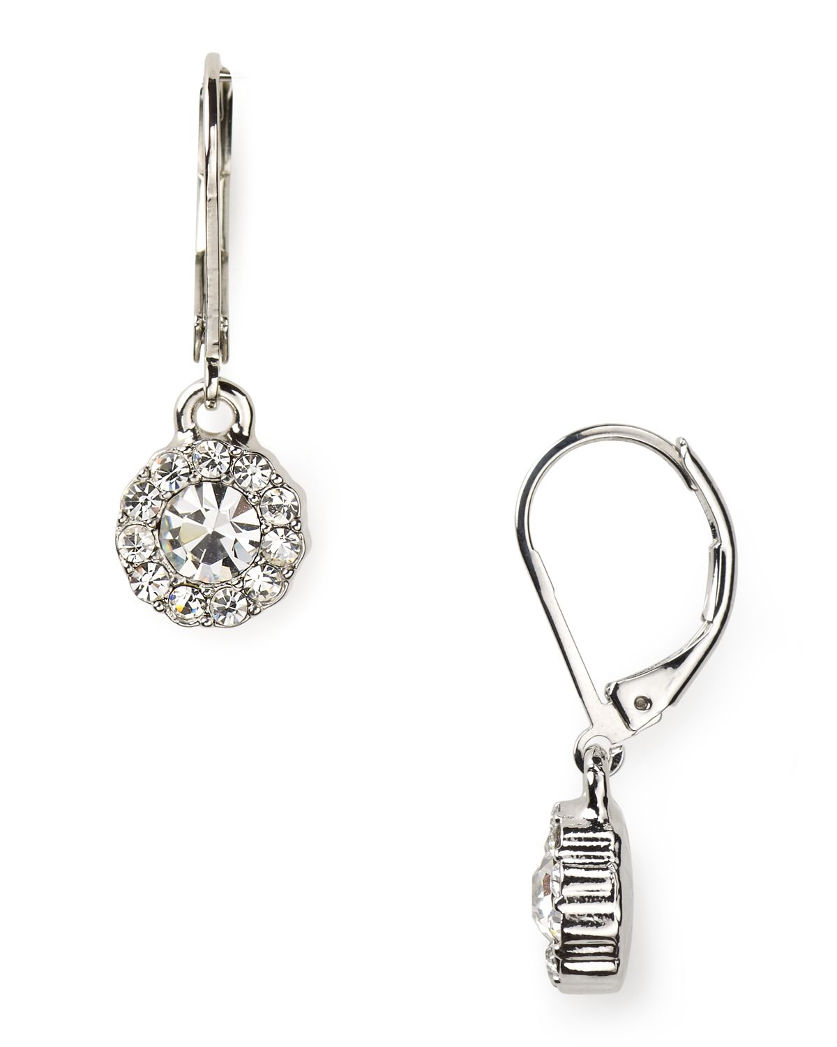 Pink Pony Lauren Social Manor Small Round Pave Drop