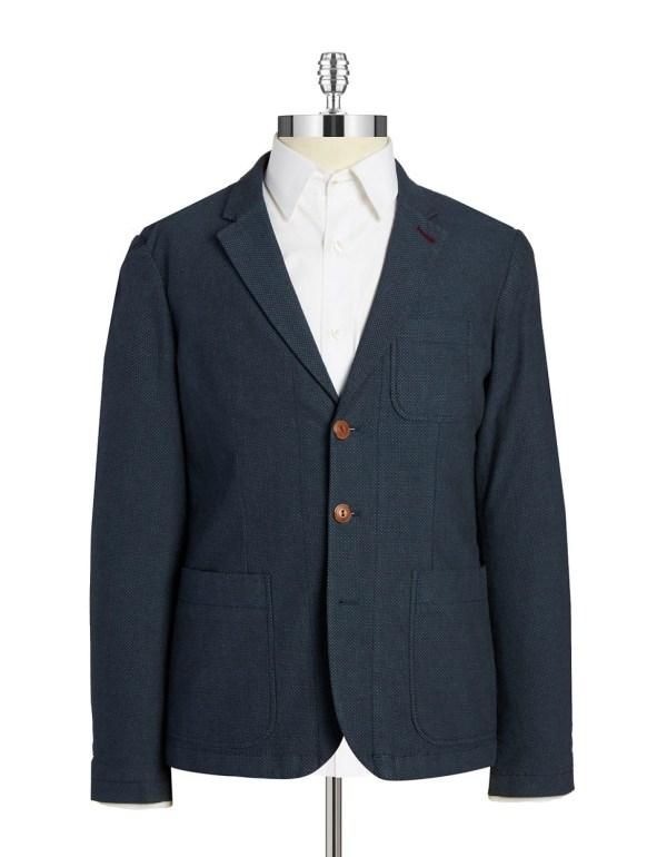 Original Penguin Three-button Blazer In Blue Men Lyst