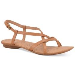 013381c590e3 Lyst Born Mai Flat Sandals In Brown