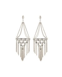Kendra scott Mandy Tassel Chandelier Earrings in Metallic ...
