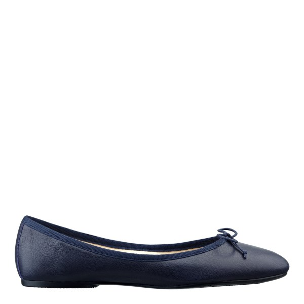 Nine West Classica Ballet Flats In Blue Lyst