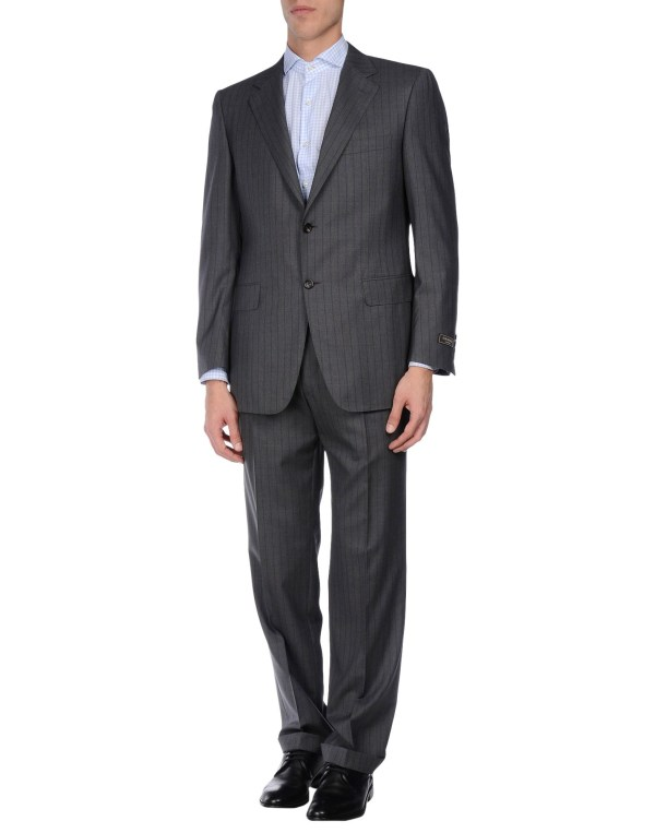 Canali Suit In Gray Men Grey Lyst