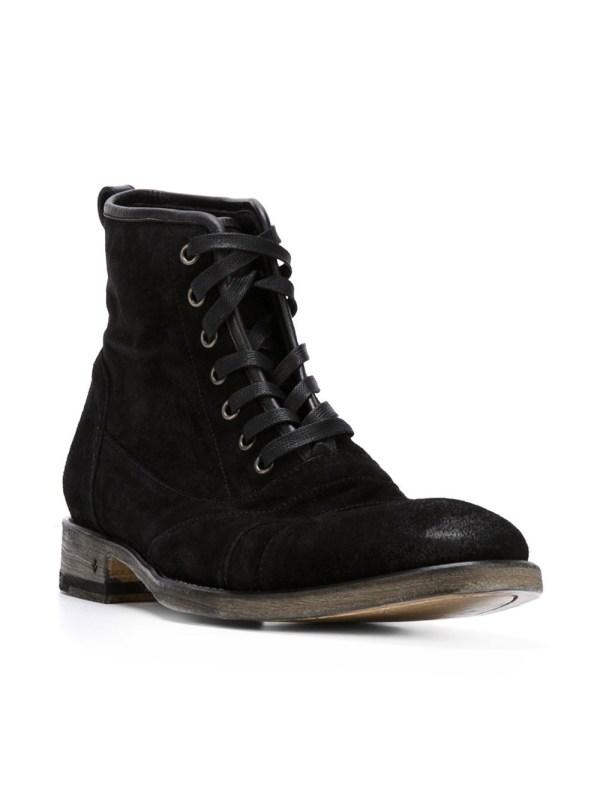 John Varvatos Utility Boots In Black Men Lyst