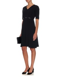 Lyst - Max Mara Studio Dalida Dress in Black