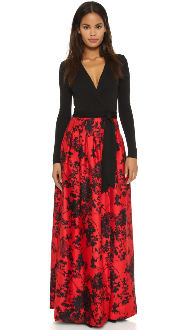 Lyst - Diane Von Furstenberg Kailey Dress Black Floral