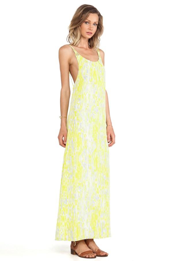 Lovers Friends Golden Light Maxi Dress
